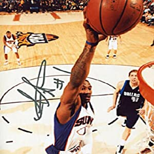 Amare Stoudemire Autographed Phoenix Suns Basketball 8x10 Photo - Autographed NBA... by Sports Memorabilia