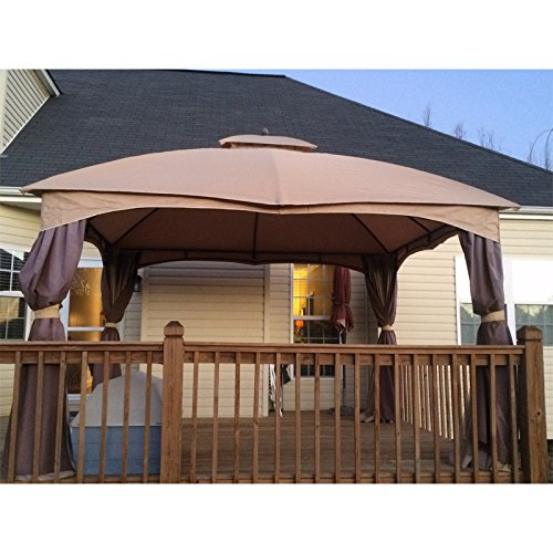 Backyard Gazebo Lowes : Canopy for the Lowes Dome Gazebo Home Lawn Outdoor Living Outdoor