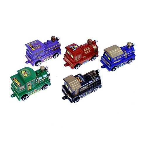 Dazzling Toys 5 Piece Train Car Combo (D280)