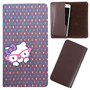 DooDa - For LG G3 BEAT (D722K) PU Leather Designer Fashionable Fancy Case Cover Pouch With Smooth Inner Velvet