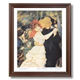 Renoir Dance Boy Girl French Home Decor Wall Picture Cherry Framed Art Print