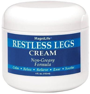 Miles Kimball MagniLife Restless Leg Cream - 4 Oz.