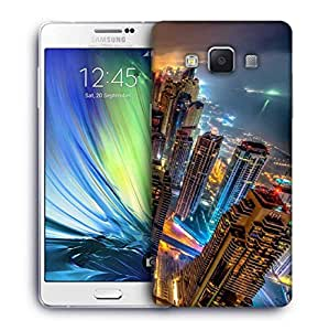 Snoogg Night View Designer Protective Phone Back Case Cover For Samsung Galaxy A7