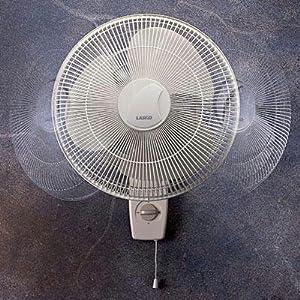 lasko products 16 inch oscillating wall mount