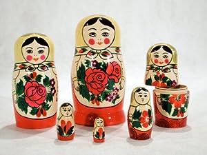 Semenov Russian Nesting Doll 6pc./5