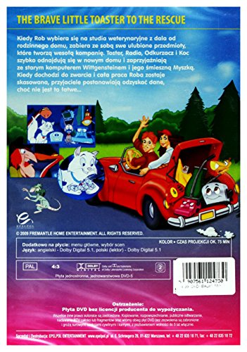 The-Brave-Little-Toaster-to-the-Rescue-DVD-Region-2-IMPORT-Keine-deutsche-Version