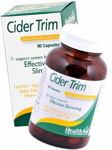 HealthAid Cider Trim - Lecithin, Apple Cider Vinegar - 90 Capsules