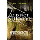 Did Not Survive (Zoo Mysteries) ~ Ann Littlewood