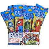 Pez Candy Dispenser 12 Count Box (Pez Marvel Comics)