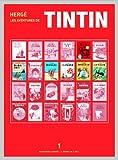 ペーパーバック版 タンタンの冒険6冊セット1