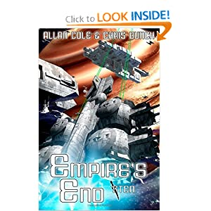 Empire's End (Sten #8) by Allan Cole and Chris Bunch