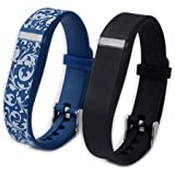 Wrist Straps For Fitbit Flex Replacement Band Accessory Set Of 2 Pieces (pattern7)