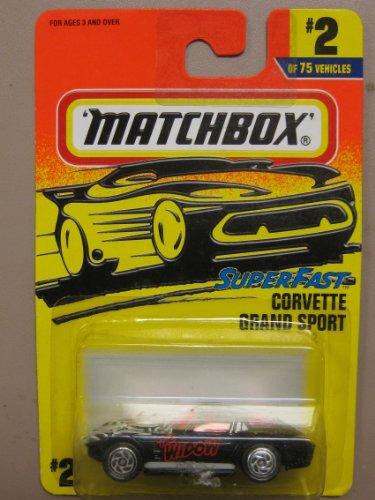 Matchbox The Widow-Super Fast Corvette Grand Sport #2 of 75