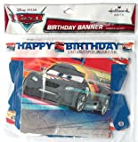 Disney & Pixar CARS HAPPY BIRTHDAY Birthday Party Banner (5.75 Feet Long)