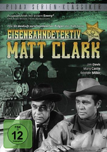 Pidax Serien-Klassiker: Eisenbahndetektiv Matt Clark - Alle 13 Folgen der Serie (2 DVDs)