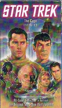 Star Trek:Episode 99 - The Cage (VHS) - Collector's Edition - 1