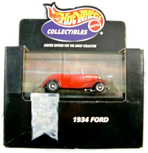 Hot Wheels Collectibles 1934 Ford (Red)