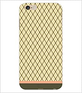 PrintDhaba Diamond Pattern D-1745 Back Case Cover for APPLE IPHONE 6 PLUS (Multi-Coloured)