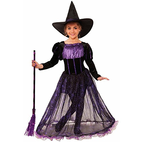 Purple Potion Witch Deluxe Kids Costume
