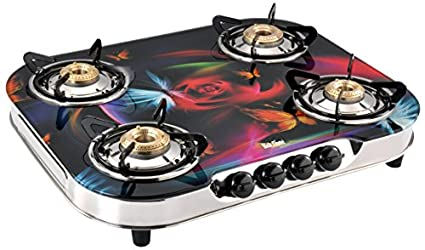 Glaze Gas Cooktop (4 Burner)
