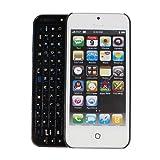 【minisuit】Apple iPhone 5 スライディング キーボード ケース 【カバー】 特殊ラバー加工 ブラック