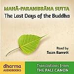 Maha-Paranibbàna Sutta: The Last Days of the Buddha |  Vajira - translator