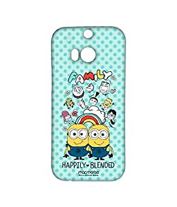 Happily Blended Teal - Sublime Case for HTC One M8