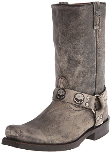 Harley-Davidson Men's Rory Harness Motorcycle Boot, Slate, 12 M US