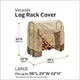 Classic Accessories Veranda Log Rack Cover, 8-Feet