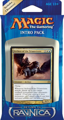 Magic the Gathering RTR: MTG: Return to Ravnica Intro Pack: Azorius Advance Theme Deck (Includes 2 Booster Packs) - 1