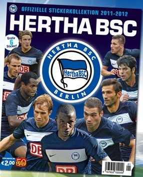 Panini Hertha BSC Berlin 2011/2012 Stickeralbum (leer)