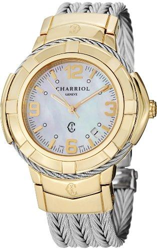 charriol-womens-ce438y1650002-celtic-analog-display-swiss-quartz-silver-watch