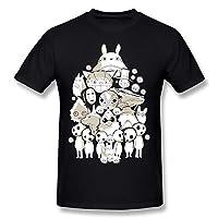 Yisw Men Funny Cartoon Animal T-Shirt Short Sleeve Cool Clothing