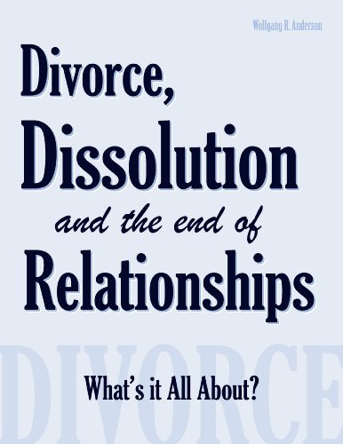 Divorce, Dissolution and the End of Relationships PDF