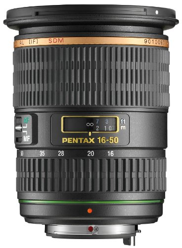 Pentax smc DA 16-50mm f/2.8 ED AL (IF) SDM Lens