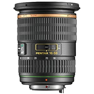 Pentax SMC DA* Series 16-50mm f/2.8 ED AL IF SDM Wide Angle Zoom Lens for Pentax Digital SLR Cameras