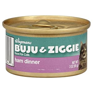 Buju And Ziggie Cat Food