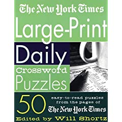 The New York Times Large-Print Daily Crossword Puzzles