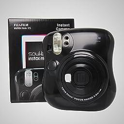 Fujifilm Instax Mini 25 Instant Film Camera Black