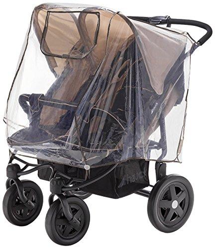 Diago 30008.75265 Komfort - Parapioggia per passeggino gemellare
