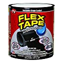 "Flex Tape Black 4"" x 5'"