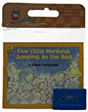 Five Little Monkeys Jumping on the Bed (Houghton Mifflin Book & Cassette Favorites)