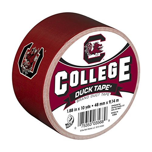 Duck Brand 240276 University of South Carolina College Logo Duct Tape, 1.88-Inch by 10 Yards, Single Roll (Duct Tape Amazon compare prices)