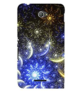 PRINTSWAG PATTERN Designer Back Cover Case for SONY XPERIA E4 DUAL