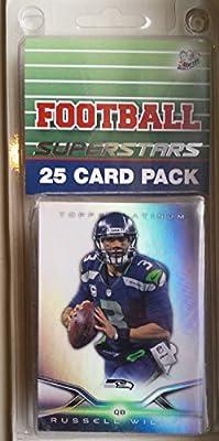 25 card pack nfl football seattle seahawks different superstars starter kit