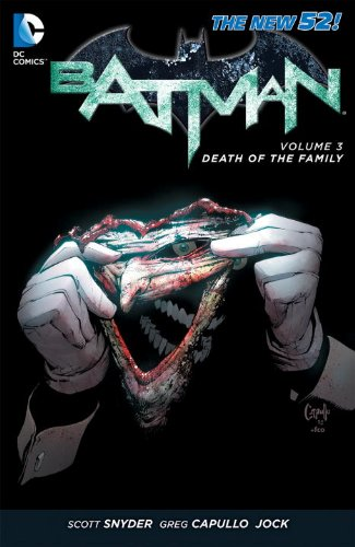 Batman Vol 3 Death Of The Family The 52 at Gotham City Store