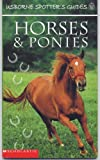 img - for Horses & Ponies (Usborne Spotter's guides) book / textbook / text book