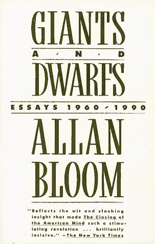allan bloom essays Writework is the biggest source online where you can find thousands of free school & college essays, research & term papers, book reports in over 190 categories.