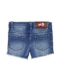 Barbie Girls' Shorts (SHSSBJ161058G006_Blue_5 - 6 years)