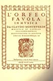 img - for Claudio Monteverdi: L'Orfeo - Favola in Musica Sv.318 book / textbook / text book